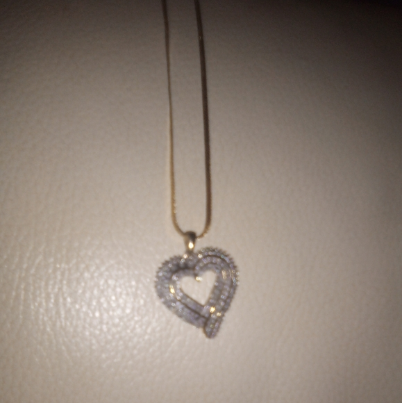 gift shop Jewelry - Diamond heart necklace pendant